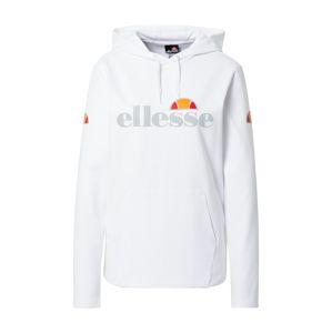 ELLESSE Športová mikina  biela / žltá / sivá / červená