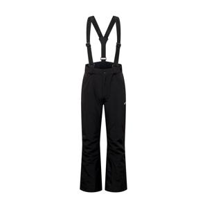 4F Outdoorové nohavice  čierna