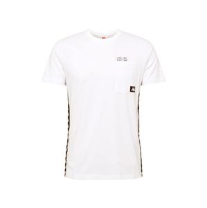KAPPA Tričko 'HELAN'  biela / čierna