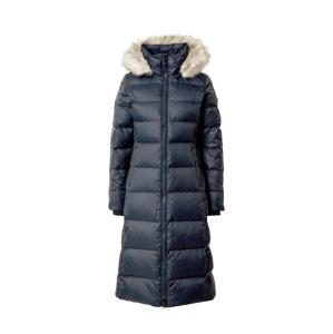 TOMMY HILFIGER Zimný kabát 'TYRA'  námornícka modrá / svetlosivá