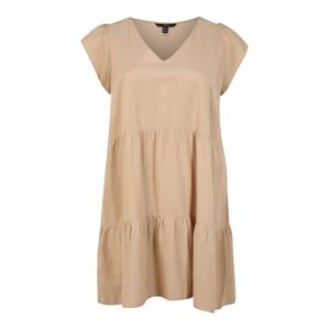 Vero Moda Curve Letné šaty  béžová