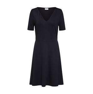 VILA Letné šaty 'RYLIE'  čierna