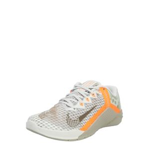 NIKE Športová obuv 'Metcon 6'  oranžová / biela