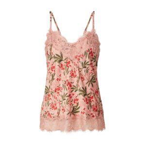 rosemunde Top  zmiešané farby / ružová