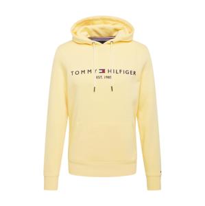 TOMMY HILFIGER Mikina  žltá / čierna