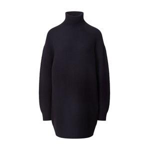 DRYKORN Pletené šaty  tmavomodrá