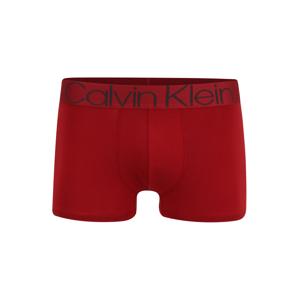 Calvin Klein Underwear Boxerky 'Evolution'  ohnivo červená / tmavomodrá