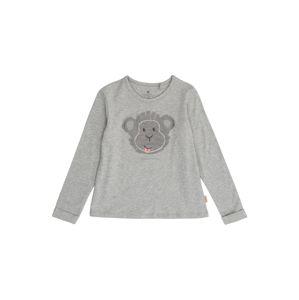 BELLYBUTTON Tričko  sivá melírovaná / sivá / biela / ružová