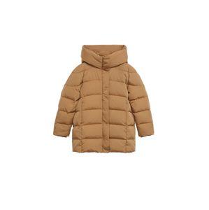 MANGO Zimný kabát  hnedá