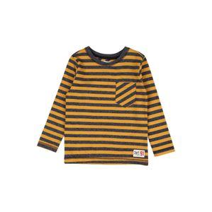 Noppies Tričko 'Norvalspond'  čierna / zlatá žltá / tmavosivá
