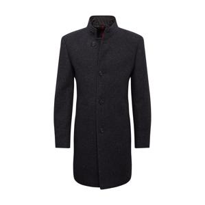 HUGO Prechodný kabát 'Mintrax'  sivá melírovaná