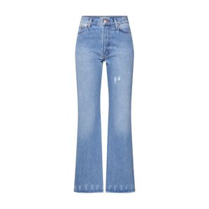 Ragdoll LA Džínsy 'Five Pocket Flare Denim'  modrá denim