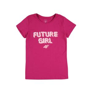 4F Funkčné tričko  ružová / svetloružová