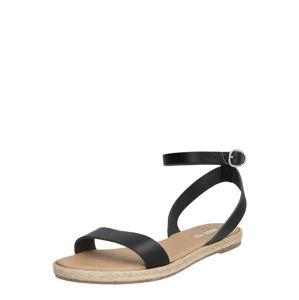 ABOUT YOU Remienkové sandále 'Felicitas'  čierna