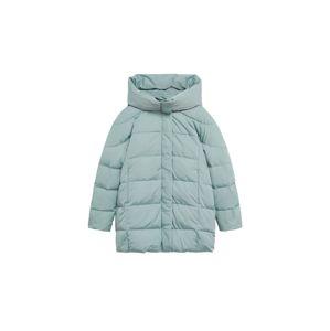 MANGO Zimný kabát 'Tokyo'  svetlomodrá