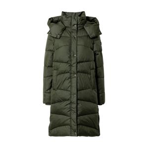 TOM TAILOR Prechodný kabát  tmavozelená