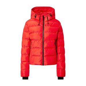 Superdry Zimná bunda  červená