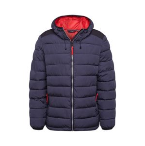 CMP Outdoorová bunda  tmavosivá / červená