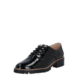 Dorothy Perkins Šnurovacie topánky 'LIZZO'  čierna