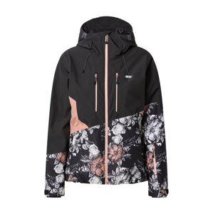 Picture Organic Clothing Outdoorová bunda  čierna / ružová / biela