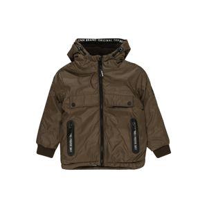 STACCATO Prechodná bunda  sivá / olivová / tmavohnedá