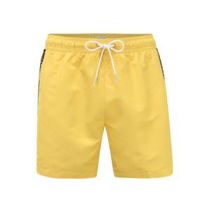 Calvin Klein Swimwear Plavky  žltá / čierna