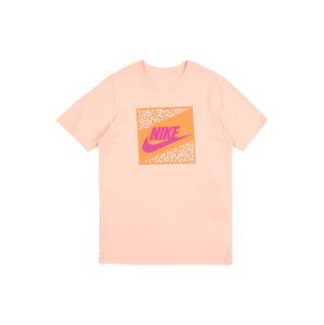 Nike Sportswear Tričko 'FUTURA'  koralová / oranžová / biela / fuksia