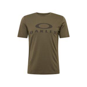 OAKLEY Funkčné tričko 'O Bark'  kaki