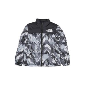THE NORTH FACE Outdoorová bunda '1996 Retro Nuptse'  sivá / čierna / biela