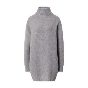 DRYKORN Pletené šaty  sivá