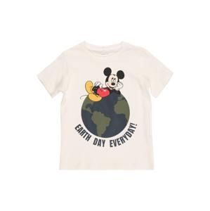 NAME IT Tričko 'Mickey Mouse'  biela / zmiešané farby