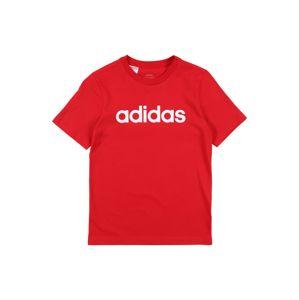 ADIDAS PERFORMANCE Funkčné tričko 'YB E LIN TEE'  červená