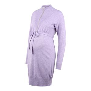 MAMALICIOUS Pletené šaty 'Nelly'  fialová