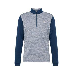 adidas Golf Športová mikina  námornícka modrá / modrosivá