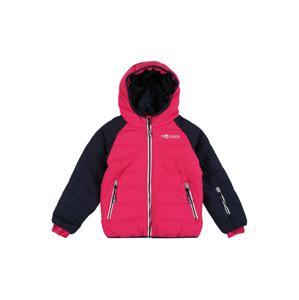 TROLLKIDS Outdoorová bunda 'Hafjell Snow'  ružová / námornícka modrá