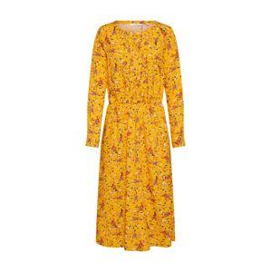 TOM TAILOR Košeľové šaty  zlatá žltá
