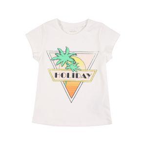NAME IT Tričko 'Veen'  biela / žltá / oranžová / pastelovo ružová / zmiešané farby