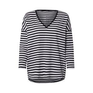 DRYKORN Tričko 'Venja'  biela / námornícka modrá
