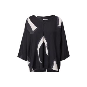 Masai Tričko 'Darleen'  čierna / biela