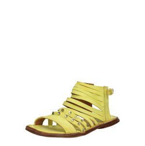 A.S.98 Remienkové sandále 'MALIBU'  citrónová