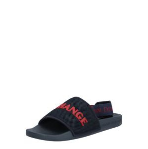 ARMANI EXCHANGE Sandále  červená / námornícka modrá