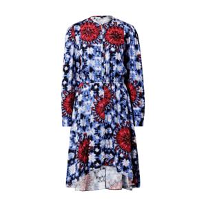 Desigual Košeľové šaty  modrá / zmiešané farby