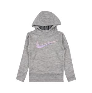 Nike Sportswear Mikina  svetlofialová / sivá melírovaná