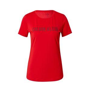 Calvin Klein Performance Funkčné tričko  červená
