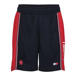 Tommy Sport Športové nohavice 'ICONIC'  červená / námornícka modrá / biela