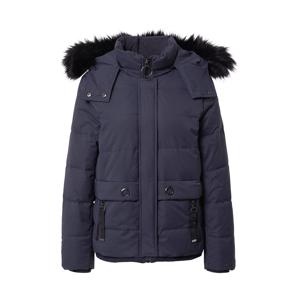 EDC BY ESPRIT Zimná bunda  tmavomodrá