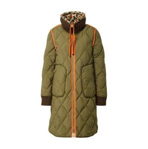 UNITED COLORS OF BENETTON Zimný kabát  zmiešané farby / olivová