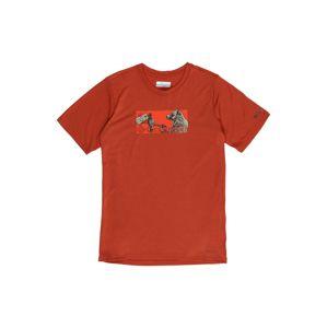 COLUMBIA Tričko  červená