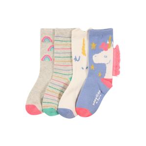 GAP Ponožky  kráľovská modrá / svetlosivá / biela