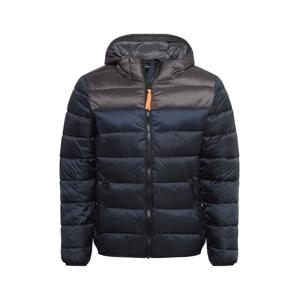 CMP Outdoorová bunda  tmavomodrá / tmavosivá